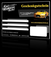 gutschein autoreinigung berlin car wellness berlin. Black Bedroom Furniture Sets. Home Design Ideas